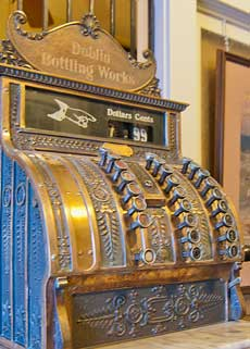Early 1900s cash register